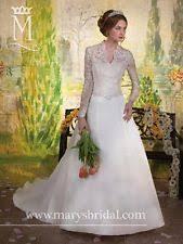 Long Sleeve Wedding Dresses Organza V Neck Long Sleeve Wedding Dresses Ebay