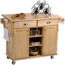 kitchen carts kitchen island small table natural wood rolling