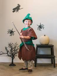 diy kids robin hood halloween costume hgtv