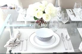 Dining Table Settings Pictures Dinner Table Settings 833team