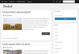 templates for blogger for software standard blogger template a simple responsive blogger theme