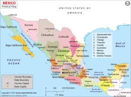 Mexico Political Map by Mexico Maplarge Mexico Map Large Mexico Political Map Qeniqs Map