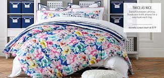 How To Make A Duvet Cover Stay Girls Bedding Pbteen