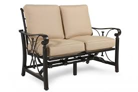 Agio Patio Furniture by Agio Seville Spring Patio Loveseat Mathis Brothers Furniture