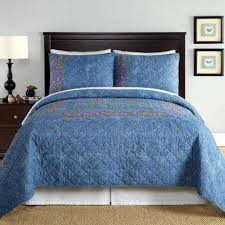 Denim Duvet Cover King Quilts Bedding The Home Depot