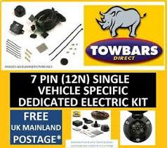 towbar wiring 7 pin kit for volvo xc90 2004 to 2015 dedicated