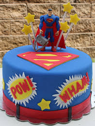 superman birthday cake with fondant decorations things i u0027ve
