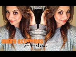 vp hair extensions review ombre extensions vp fashion vp hair