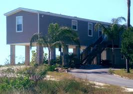 Homes On Pilings Taylor Made Homes Homosassa Mobile Home Stilt Homes Manufactured