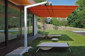 Patio Offset Umbrellas Attractive Rectangle Patio Umbrella Fim Flexy Aluminum 839 X