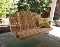 porch swing a hanging bed giving a cozy atmosphere stanleydaily com