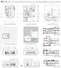 notre dame du haut floor plan of section architectureus most intriguing modern delighful modern le