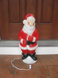 outdoor plastic lighted santa claus furniture blow mold santa christmas blowmold high indoor outdoor