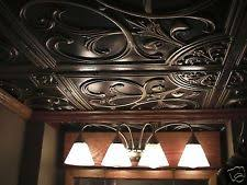 Tin Ceiling Tiles For Backsplash - faux tin ceiling tiles ebay
