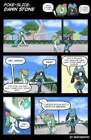 Pokemon Evolution Meme - reikomuffin evolution into gallade pokemon