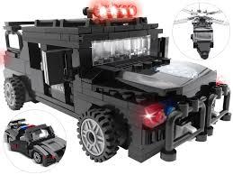 swat vehicles 7tech 3 in 1 police swat vehicles building blocks include