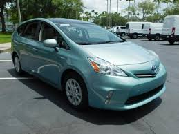 toyota prius moonroof 2014 toyota prius v three in florida for sale 27 used cars from