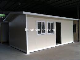 sandwich panel wood aluminum door prefab granny units easy