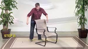 Belleville Patio Furniture Home Depot Hampton Bay Belleville 4pc Chair Youtube