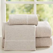 cotton jersey bedding pbteen