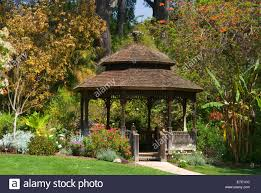 San Diego Botanical Gardens Encinitas Gazebo San Diego Botanic Garden California Stock Photo 73408620