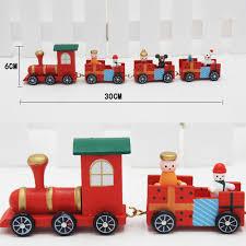 aliexpress com buy lovely charming 4 piece little train wood