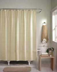 Brown Waffle Weave Shower Curtain by Cream And Black Shower Curtain Leopard Print Fabric Bath Shower