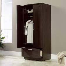 sauder homeplus four shelf storage cabinet sauder homeplus wardrobe cabinet hayneedle