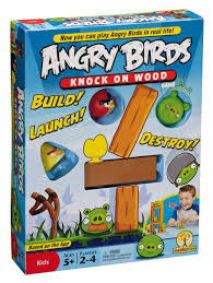 amazon com angry birds knock on wood game toys u0026 games