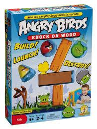 amazon angry birds knock wood game toys u0026 games