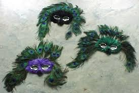 peacock mardi gras mask ok maybe i don t need these but i definitely want these
