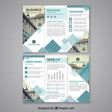 tri fold brochure template free download abstract design trifold brochure template vector free download