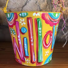 painted easter buckets buckets of dakri sinclair