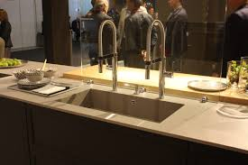 faucet sink kitchen new kitchen sink styles showcased at eurocucina