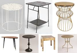 Zara Side Table The Search For A Side Table
