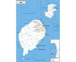 map of sao tome maps of sao tome and principe detailed map of sao tome and