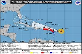 hurricane irma tracking information today santa fe