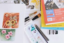 watercolor painting supplies art supplies for travel shiny happy