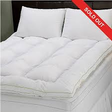 pillow bed topper sensorpedic 3 memory loft deluxe queen mattress topper w jumbo