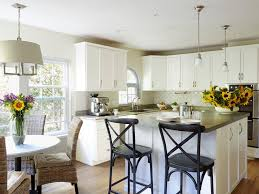Kitchen Cabinets Baltimore by Stock Cabinets Brown Arched Valence Two Sinks Open Trash Granite