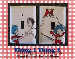 painted light switch covers dr seuss character light switch plates