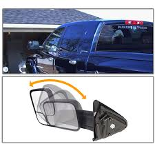 towing mirrors for dodge ram 3500 08 dodge ram 1500 03 09 2500 3500 power heated telescoping