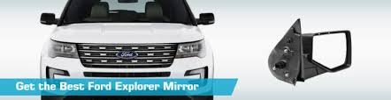 ford explorer mirror replacement ford explorer mirror side view mirrors partsgeek com 2002