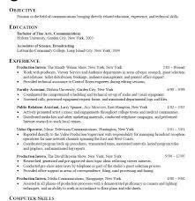 internship resume objective examples internship resume sample 6