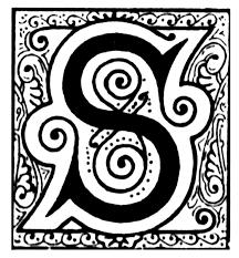 monogram letter s 192 best s is for sybil my aka images on alphabet