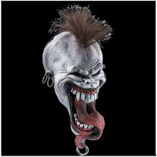 deluxe mayhem mask latex halloween mask mad about horror