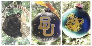 What Does Ornaments Baylorproud What Does Baylorchristmas Look Like In Your Home