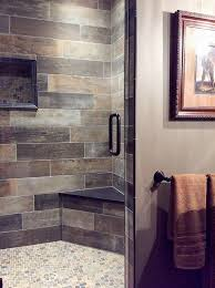 brown tile bathroom decorating with brown and gray a pairing that may surprise you