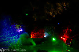 Halloween House Light Show by Los Angeles Halloween Party Planning By Party Planners Laparty