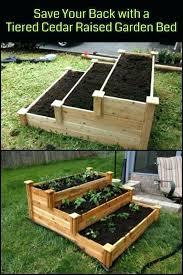 Cedar Raised Garden Bed Tiered Garden Beds U2013 Exhort Me